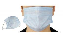10 Stk. Einweg-Mund-Schutzmaske 3-lagig mit Ohrschlaufen