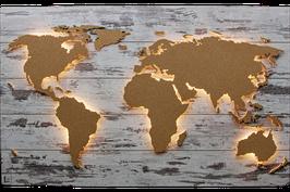 """Weltkarte """"Kork"""" (diverse Größen)"""