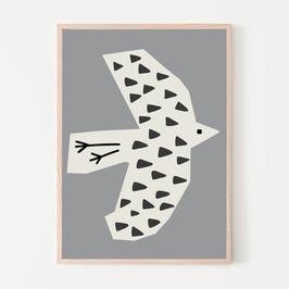 Vogel Poster SILVIA VISSCHER