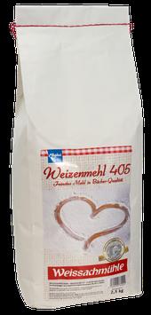 Weizenmehl Type 405 - 2,5 kg