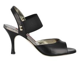 E01 Black (Größe 40, Absatz 7cm)
