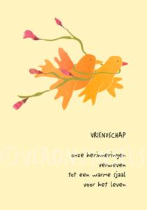 VRIENDSCHAP - VERONZINSELS (B128)