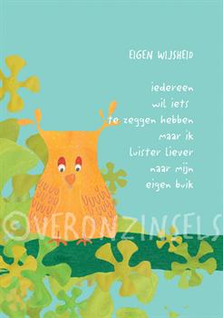 EIGEN WIJSHEID - VERONZINSELS (B136)