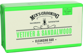 CLEANSING BODY VAR VETIVER & SANDELWOOD - SCOTTISCH FINE SOAPS
