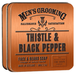 MENS' GROOMING FACE & BEARD - SCOTTISH FINE SOAPS
