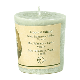 CHILL OUT GEURKAARS - TROPICAL ISLAND STEARINE