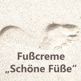 "Fußcreme ""Schöne Füße"""