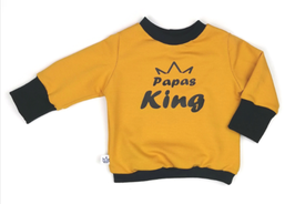 Langarmshirt >Papas King<