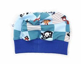 Mütze >Piraten Blau<