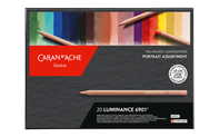 Caran d' Ache Luminance Portrait Set - 20 stuks