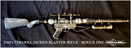 TIBANNA-JACKED BLASTER RIFLE (DIY KIT)