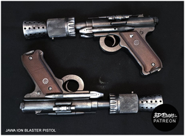 JAWA ION Blaster Pistol - 3D FILES
