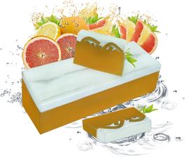 Handgemachte Seife Grapefruit 100g