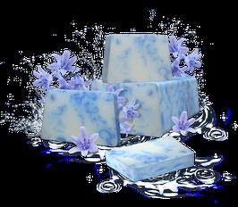 Handgemachte Seife SPANISH BLUEBELL 100g