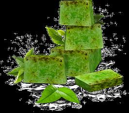 Handgemachte Seife Green Tea & Aloe Vera 100g
