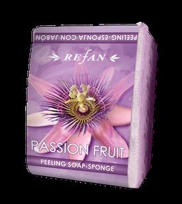 Refan Peelingschwamm mit Seife Passion Fruit 80g