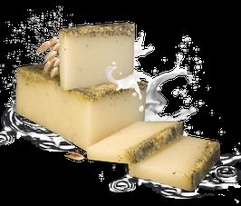 Handgemachte Seife Milch mit Hafer 100g