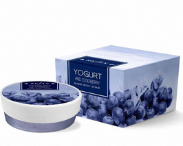 "Refan Sugar Body Scrub (Zuckerpeeling) ""Yogurt und Holunderbeere"" 240g"