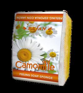 Refan Peelingschwamm mit Seife Camomile 80g