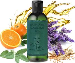 RELAX- Anti-Stress Massage & Badeöl für Bad  100ml.