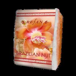 Refan Peelingschwamm mit Seife Brazilian Nut 80g