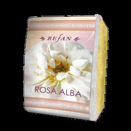 Refan Peelingschwamm mit Seife Rosa Alba 80g