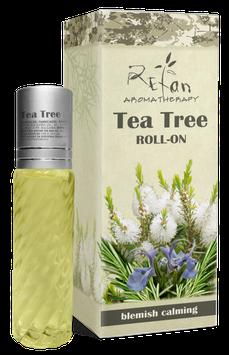 BERUHIGENDES ANTI-PICKEL-ROLL ON mit Teebaumöl und Rosenkonkret 10ml.