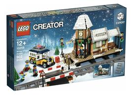 Lego 10259 - Stazione Ferroviaria del Villaggio Invernale