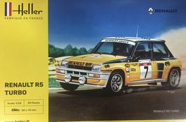 Renault 5 Turbo Gr.B Tour de Corse (1982) - Elf - Heller 80717