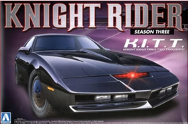"Pontiac Firebird ""Knight Rider - S. III"" Aoshima 3200"