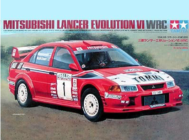 Mitsubishi Lancer Evo VI - WRC Champion 1999  - Tamiya  24220