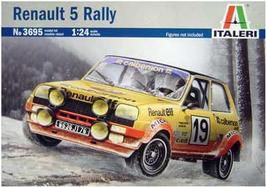 Renault 5 Alpine Gr.2 Rallye Montecarlo - Italeri 3695