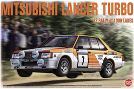 Mitsubishi Lancer Turbo Gr.4 - Ralliart - 1000 Lakes 1982 - Nunu B24018