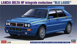 Lancia Delta HF Integrale Evoluzione Blu Lagos (1991) - Hasegawa 20481