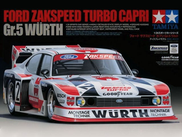 Ford Capri Turbo Gr.5 Zakspeed - Wurth - Tamiya 24329