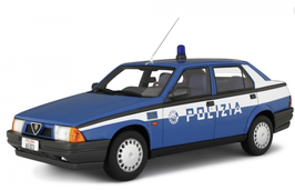 ALFA ROMEO 75 1 1.8 I.E. (1988) - POLIZIA - LAUDORACING 1/18