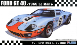 Ford GT40 24h Le Mans 1968 - Gulf - Fujimi RS-97