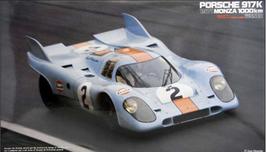Porsche 917K 1000km MONZA (1971) - Gulf - Fujimi RS98