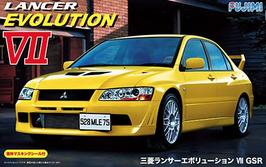Mitsubishi Lancer Evo VII (2001) - Fujimi ID-179