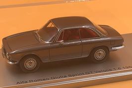 ALFA ROMEO GIULIA GT VELOCE 1.6 (1966) GRIGIO