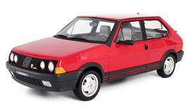 FIAT RITMO 130TC ABARTH (1983) - ROSSO - LAUDORACING 1/18