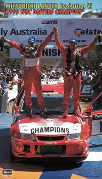 Mitsubishi Lancer Evo VI - WRC Champion 1999  - Hasegawa 20303
