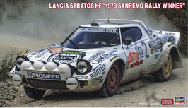 Lancia Stratos HF Gr.4 - Sanremo 1979 Winner - Hasegawa 20440