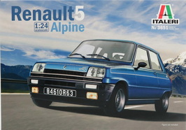 Renault 5 Alpine (1977) - Italeri 3651