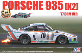 Porsche 935 K2 DRM (1977) - Vaillant - Aoshima Bemax 105108