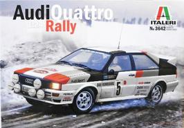 Audi Quattro Gr.4 - Montecarlo 1981 - Italeri 3642