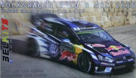 Volkswagen Polo R  WRC - VW Motorsport - Montecarlo Rally (2016) - Belkits BEL011