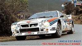 Lancia 037 Gr.B - Tour de Corse 1984 - Martini - Hasegawa 25030