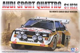 Audi Sport Quattro S1 E2 Gr.B - Montecarlo 1986 - Aoshima Beemax 24017