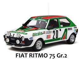 """FIAT RITMO 75 GR.2 """"MONTECARLO RALLY 1979 - A.BETTEGA"""" -- OTTOMOBILE cod. OT294"""